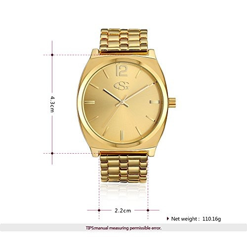 7bebdc6f5740 George Smith Reloj De Pulsera De Oro De 43 Mm Para Hombres ...