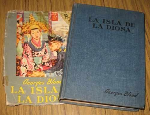 georges blond : la isla de la diosa - 1953 novela