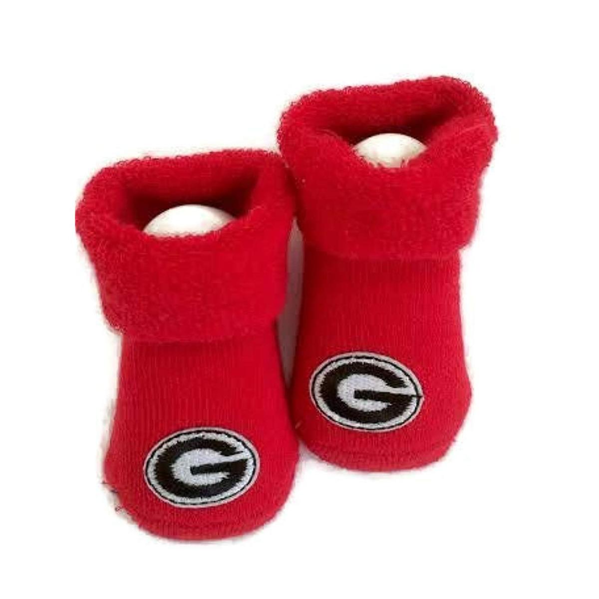 16e9d9883 Georgia Bulldogs Baby Gift Set Red Booties - $ 2,185.28 en Mercado Libre