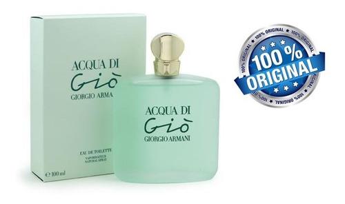georgio armani - acqua di gio - mujer - edt - 100ml