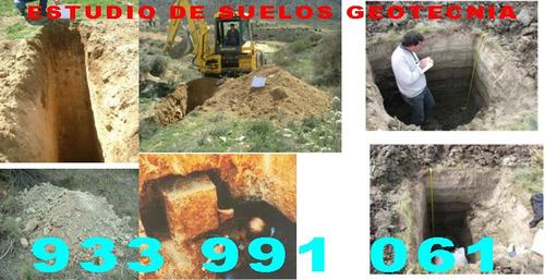 geotecnia, estudio de suelos, esclerometro, diamantina, spt