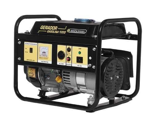 gerador 1200w gasolina 4 tempo monofásico - matsuyama