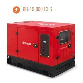 Gerador 3f Diesel Bd19000 19kva 380/220 Ats Genset Solutions