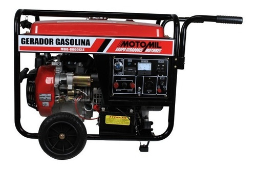gerador 8 kva gasolina 4 tempos 15 hp 8.000w frete grátis