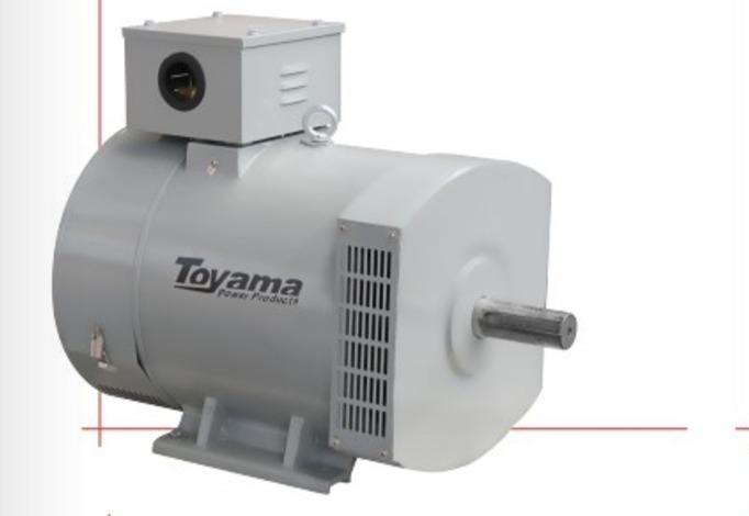 cc891e53206 Gerador Alternador Energia Solteiro Trifásico 15 Kva Toyama - R ...