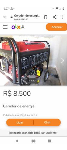 gerador de energia