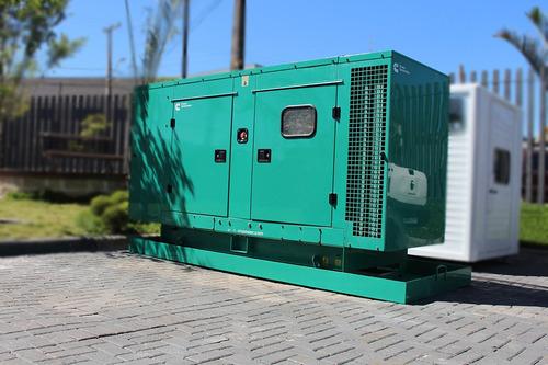 gerador de energia cummins 2012 c110 d6 140kva carenado