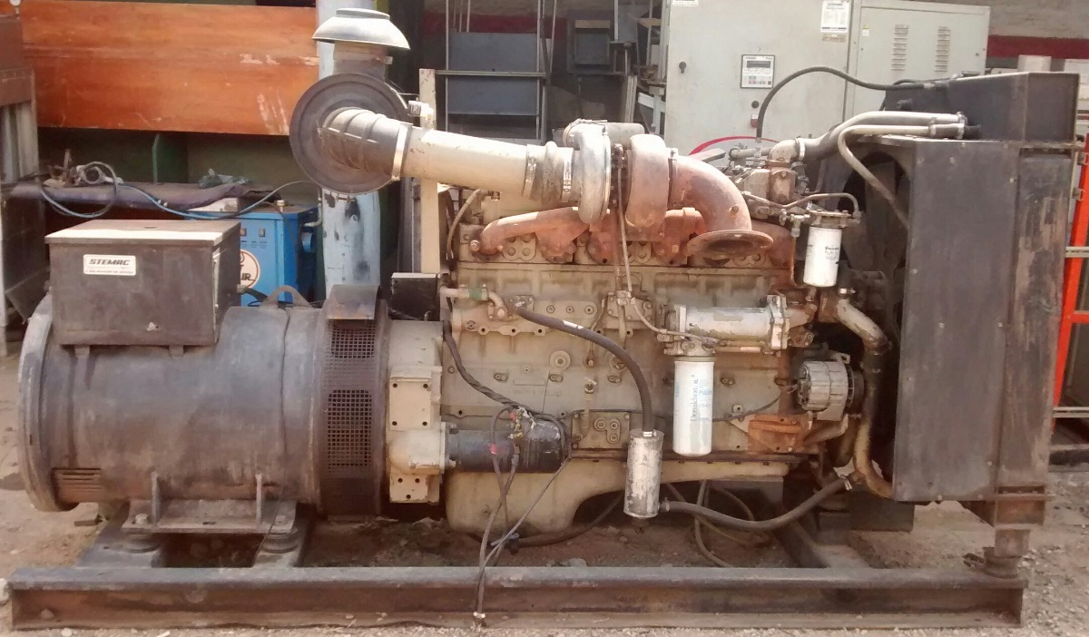 04f22834007 Gerador De Energia De 450 Kva Com Motor Cumins 6 Cilindros. - R ...