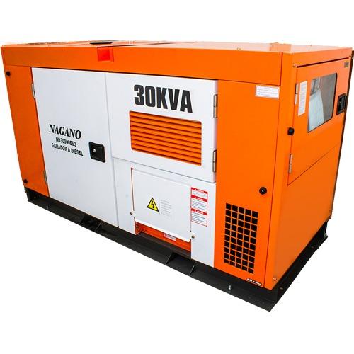 72efbe97af7 Gerador De Energia À Diesel Trifásico 30kva - Nagano - R  28.990