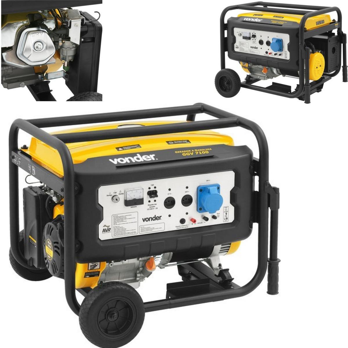 8233d813f30 gerador de energia gasolina p. eletrica 110 200v 7 kva. Carregando zoom.