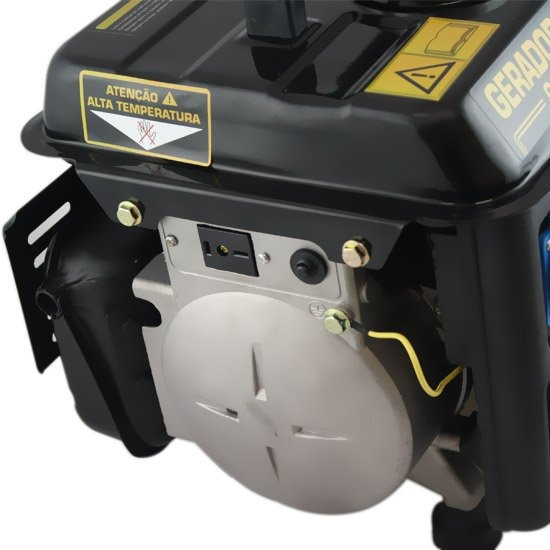960a9ad1985 Gerador De Energia Portátil À Gasolina 2t Partida Manual 0