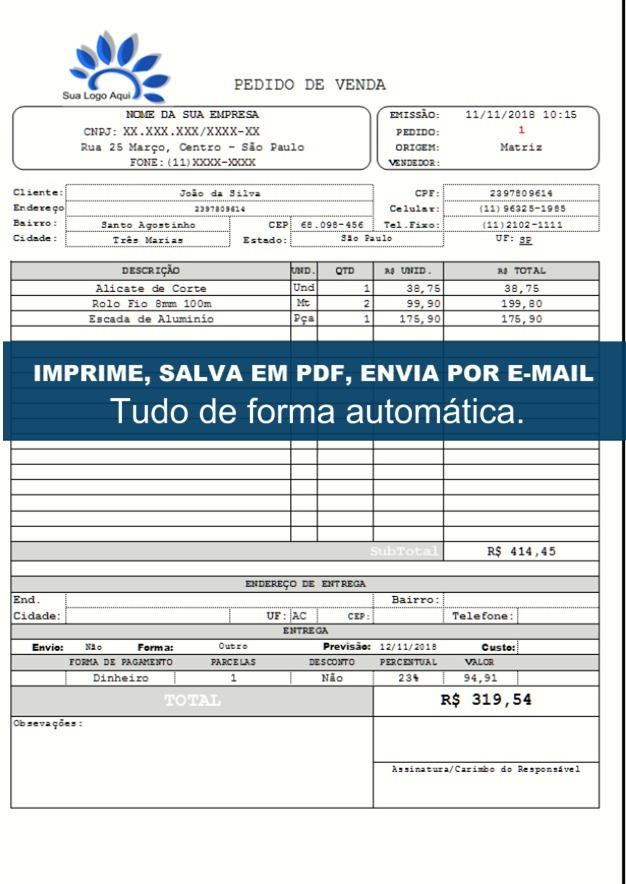 f745cfabf0bea2 Gerador De Nota De Venda