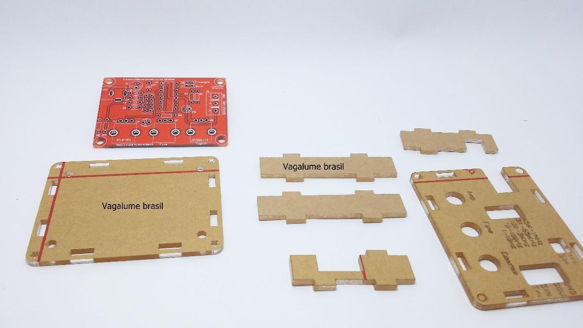 Circuito Xr2206 : Gerador de sinais com xr kit completo r em mercado livre