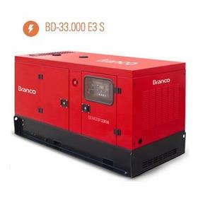 Gerador Diesel Bd33000 33kva 380/220v Ats Genset Solutions