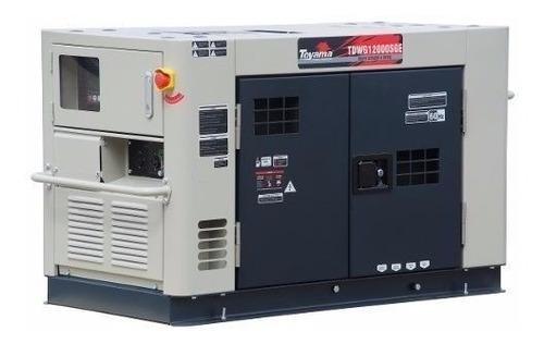 gerador diesel silenciado  toyama 12 kva pronta entrega