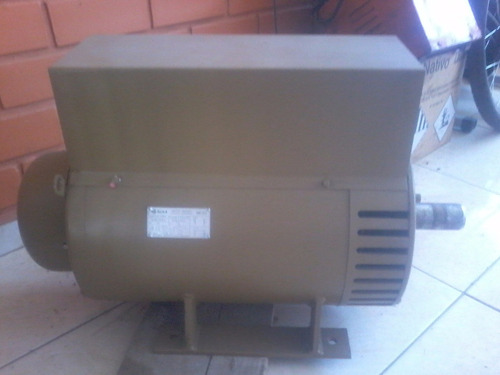 gerador eletrico monofasico 220/440 volts  marca nova
