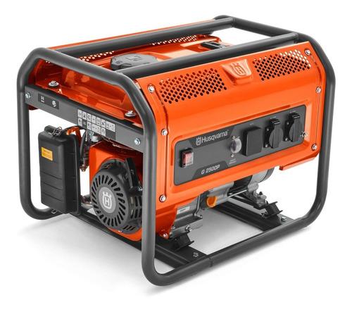 gerador energia a gasolina 2,5kva g2500p mono husqvarna