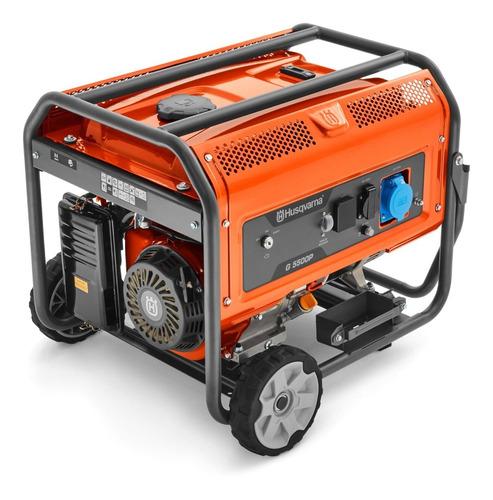 gerador energia a gasolina 5,5kva g5500p mono husqvarna