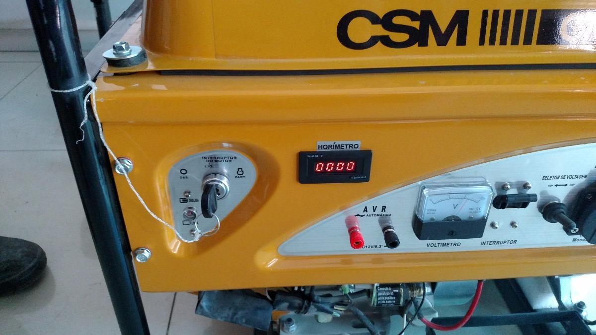 371505c8126 Gerador Energia Gasolina Partida Eletrica 6 Kva Semi Novo - R  2.190 ...