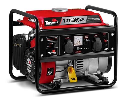 gerador  gasolina tg1200cxv1 110 ou 220 toyama promoção