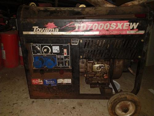 gerador marca toyama modelo td 7000