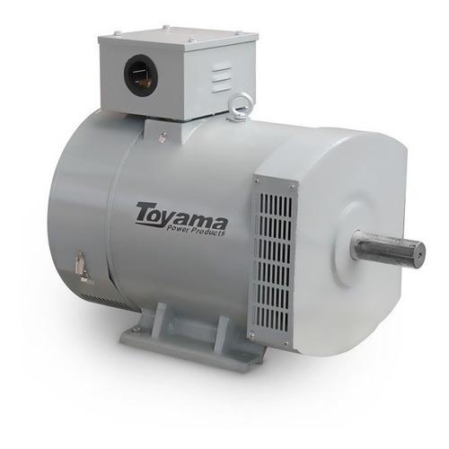 gerador toyama 15 kva sem motor trifásico 110/220