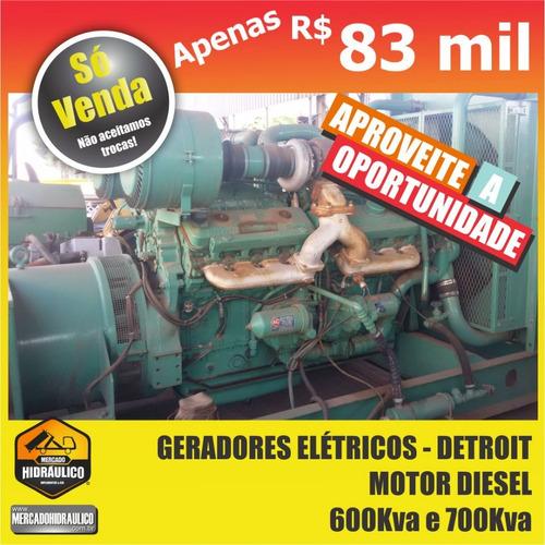 geradores elétricos com motor diesel - detroit