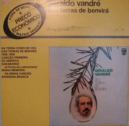 geraldo vandré  -  das terras de benvirá - fontana - 1973/78