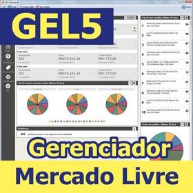 Gerenciador Vendas Ml Gel5 - Assinatura Anual - 12x S/juros