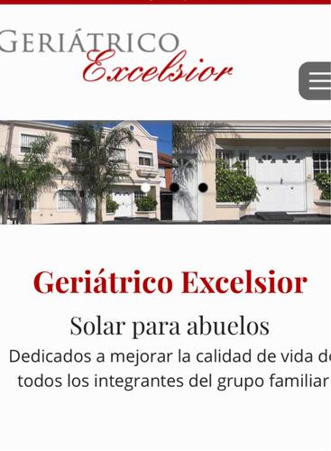 geriátrico excélsior solar para los abuelos