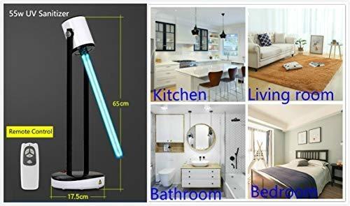 germ buster potente luz uv, 55 w para salon, dormitorio, ger