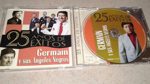 germáin y sus ángeles negros cd 25 años de éxitos muy bonito