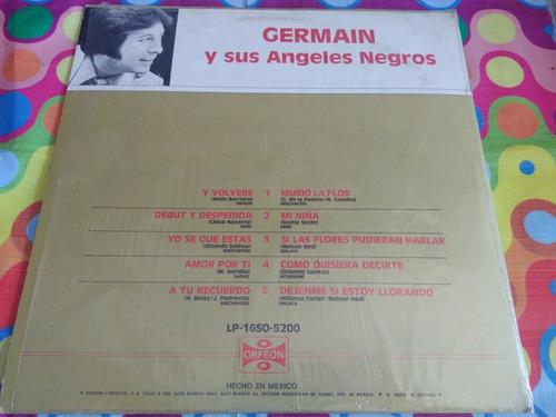 germain y sus angeles negros lp a tu recuerdo 1979