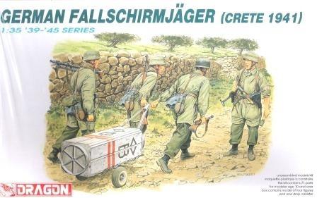 *german fallschirmjäger (crete 1941)* dragon 1/35