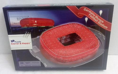 germany munich stadium, rompecabezas en 3d