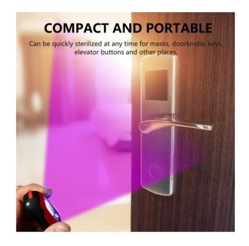 germicida portátil con luz ultravioleta uv-c 253,7nm
