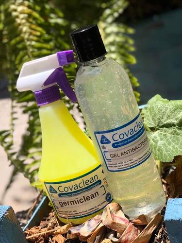 germiclean (sanitizante) y gel antibacterial