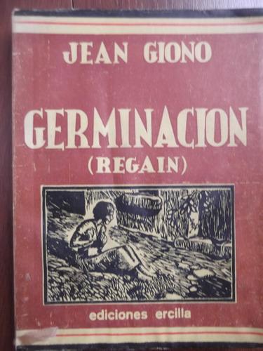 germinacion de jean giono con ilustraciones
