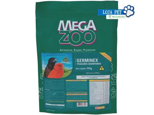 germinex megazoo -alimento extrusado 900g