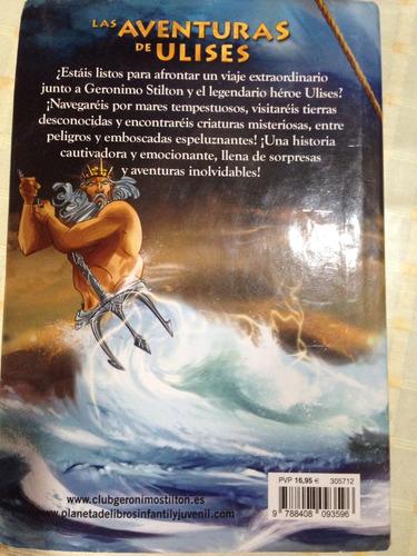 geronimo stilton las aventuras de ulises destino