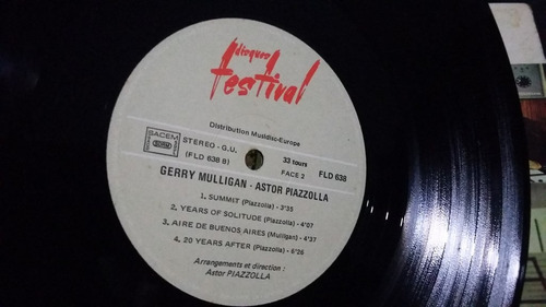 gerry mulligan astro piazolla lp vinilo jazz