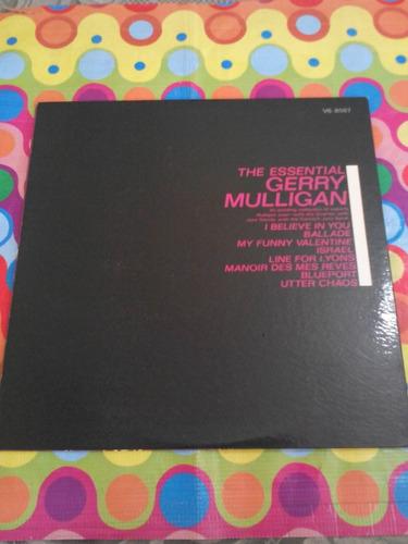 gerry mulligan lp the essential 1963. se abre. u.s.a.