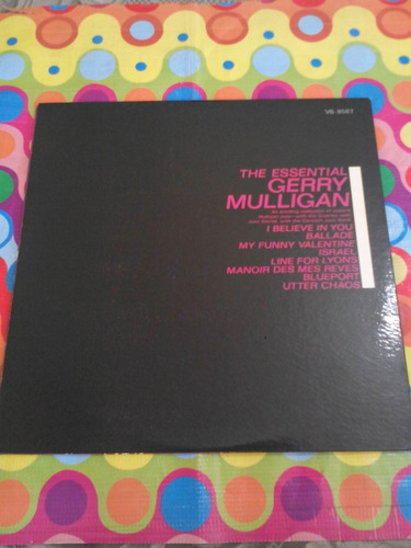 gerry mulligan lp the essential 1963. se abre usa r