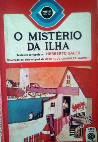 gertrude chandler o misterio da ilha herberto sales bolso