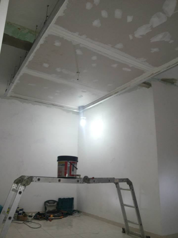 Quanto Custa Um Espelho Grande Para Banheiro : Gesso drywall instala??o r?pida forro paredes nichos