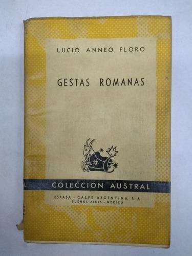 gestas romanas _  lucio anneo floro