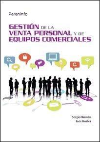 gestión de la venta personal y de equipos comerciales(libro