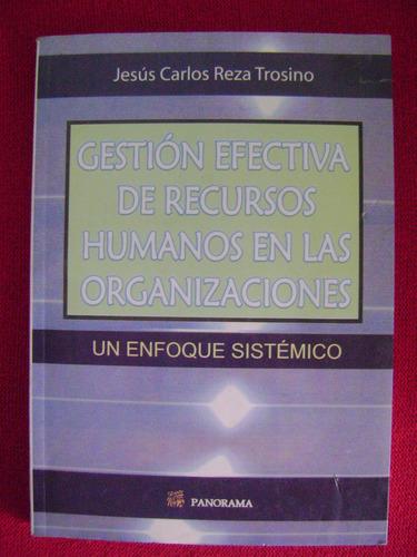 gestión efectiva de recursos humanos en las organizaciones