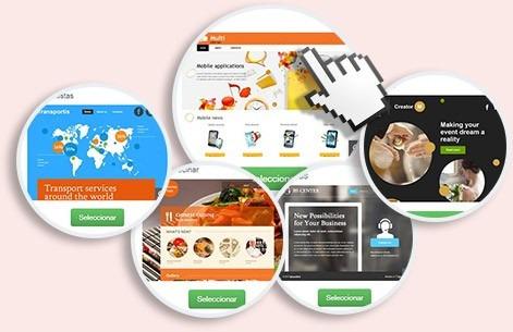 gestion redes sociales diseño pagina web tienda virtual