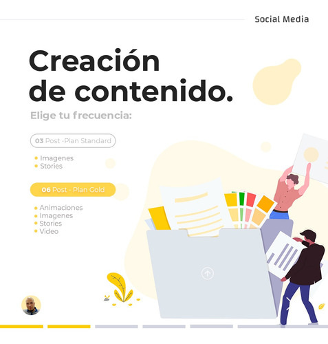 gestionamos tus redes sociales / community manager